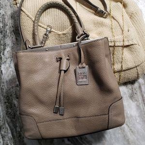 Frye | Leather Bucket Crossbody Handbag